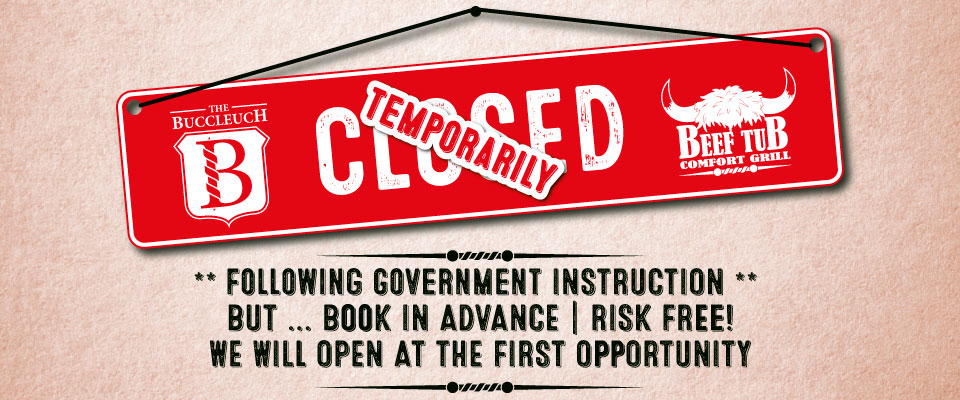Temporarily Closed But Book Risk Free